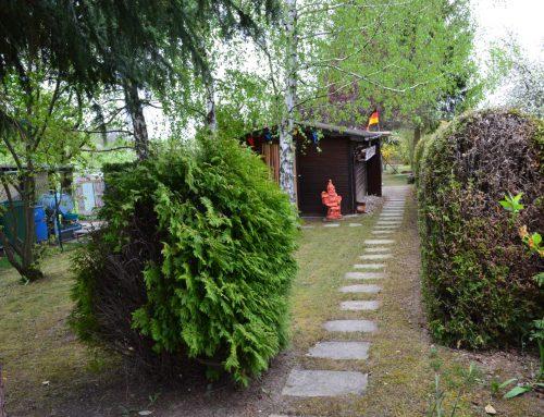 Gepflegtes Gartengrundstück mit Gartenhütte   in Birkenfeld